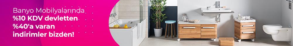 Kampanyalı İndirimli Banyo Dolabı Modelleri
