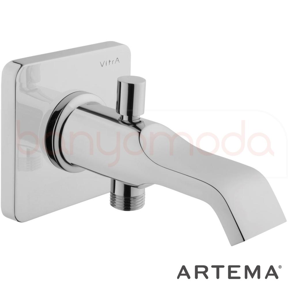 Artema Suit U Çıkış Ucu (El Duşu Çıkışlı), Krom