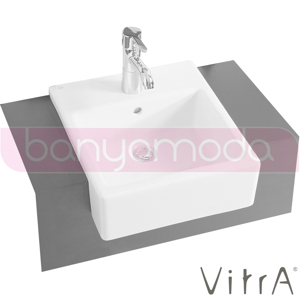 vitra nuovella yar m tezgah lavabo 40 cm 4034b003 0001 online sat banyomarka. Black Bedroom Furniture Sets. Home Design Ideas