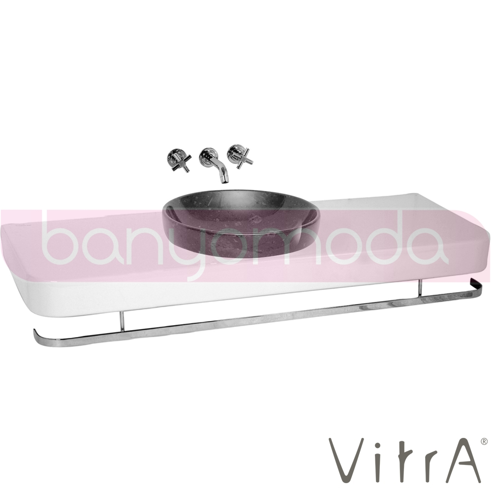 vitra water jewels etajer lavabo 120 cm 4366b003 0905 online sat banyomarka. Black Bedroom Furniture Sets. Home Design Ideas