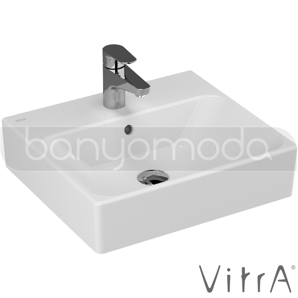 vitra nuo lavabo 50 cm 4431b003 0001 online sat banyomarka. Black Bedroom Furniture Sets. Home Design Ideas