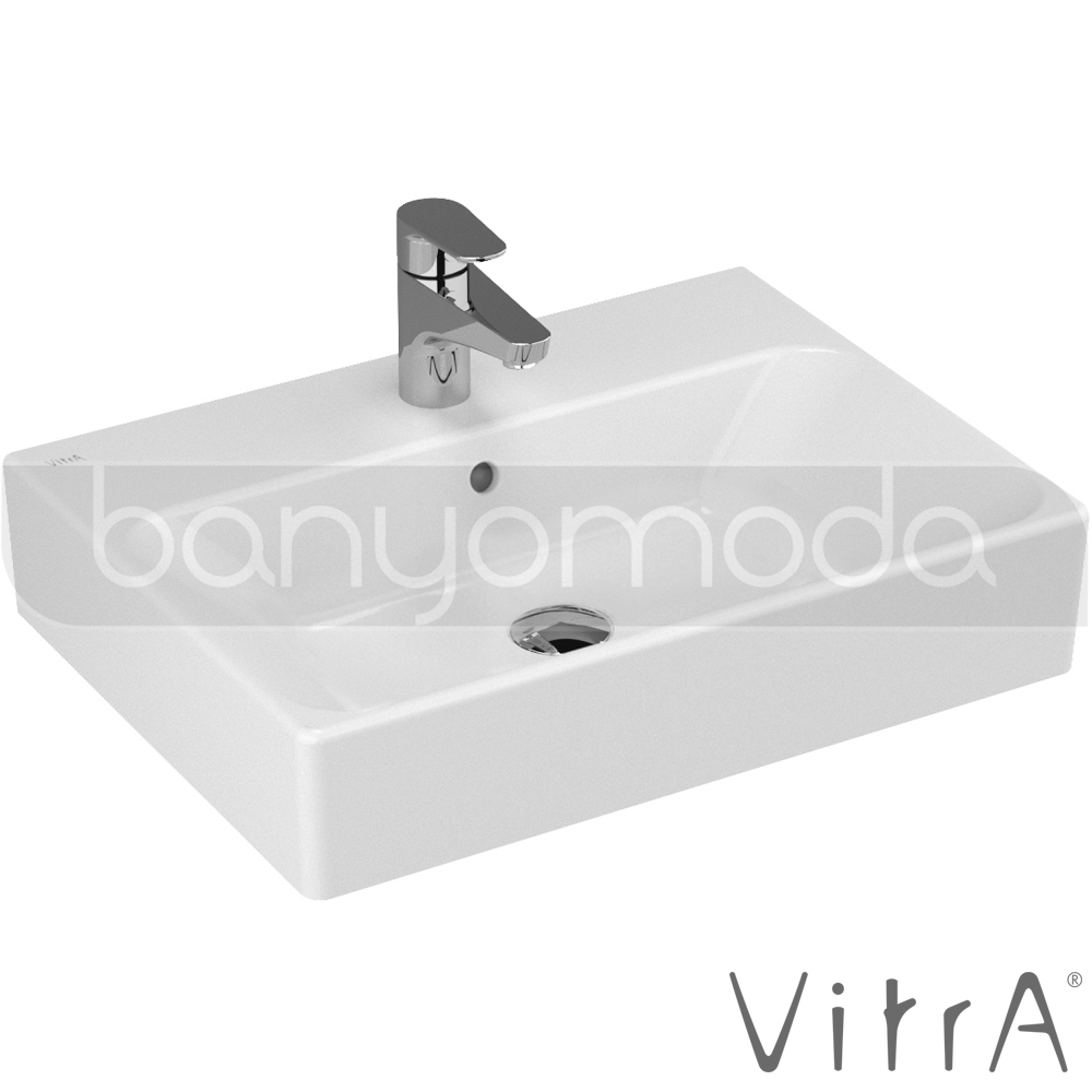 vitra nuo lavabo 60 cm 4432b003 0001 online sat banyomarka. Black Bedroom Furniture Sets. Home Design Ideas