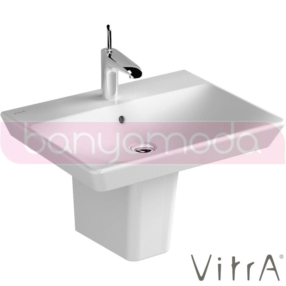 vitra t4 lavabo 60 cm 4451b003 0001 online sat banyomarka. Black Bedroom Furniture Sets. Home Design Ideas
