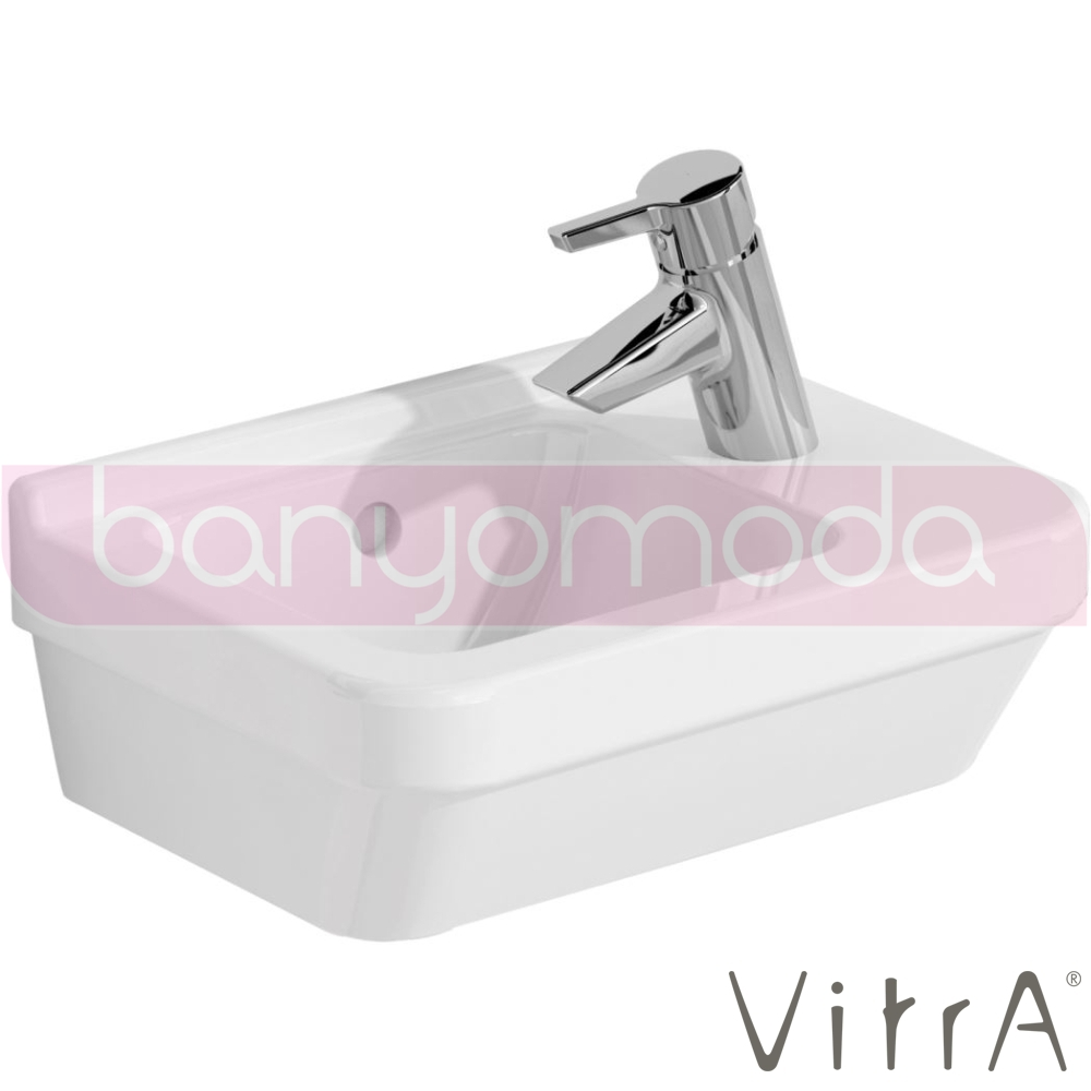 vitra s50 kompakt lavabo dar 40 cm 5343l003 0012 online sat banyomarka. Black Bedroom Furniture Sets. Home Design Ideas