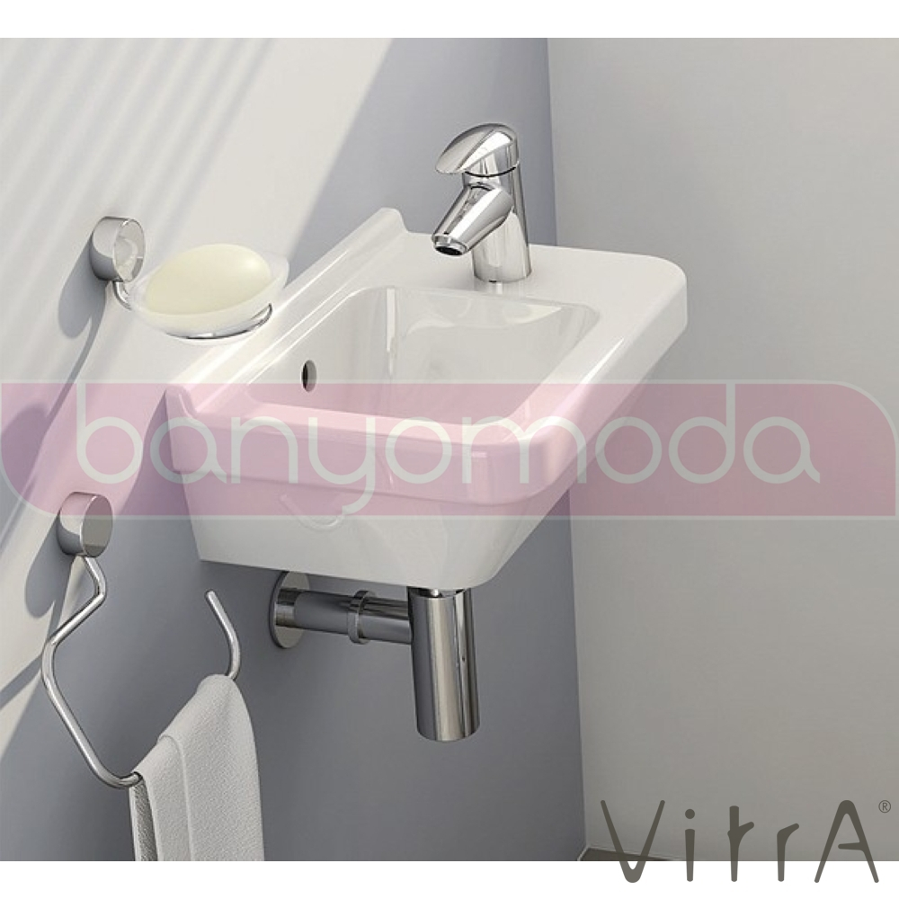 vitra s50 lavabo dar 50 cm 5344l003 0012 online sat banyomarka. Black Bedroom Furniture Sets. Home Design Ideas