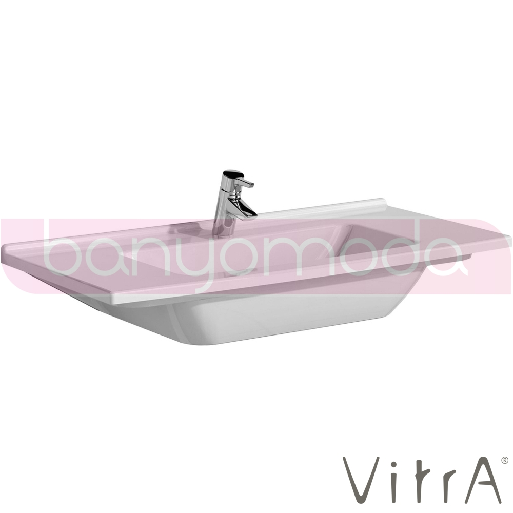 vitra s50 etajerli lavabo 100 cm 5479b003 0001 online. Black Bedroom Furniture Sets. Home Design Ideas
