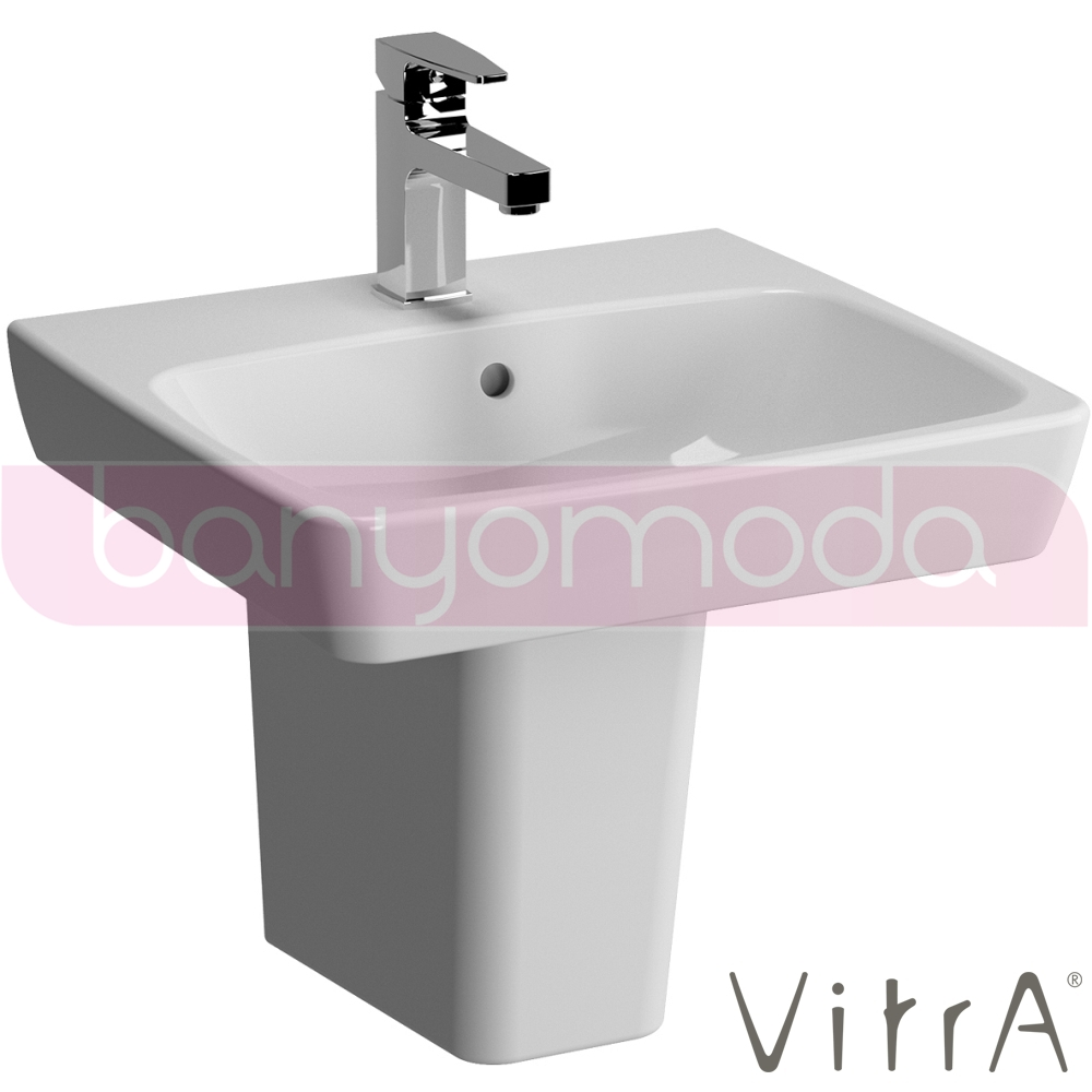 vitra metropole lavabo 50 cm 5661b003 0001 online sat banyomarka. Black Bedroom Furniture Sets. Home Design Ideas