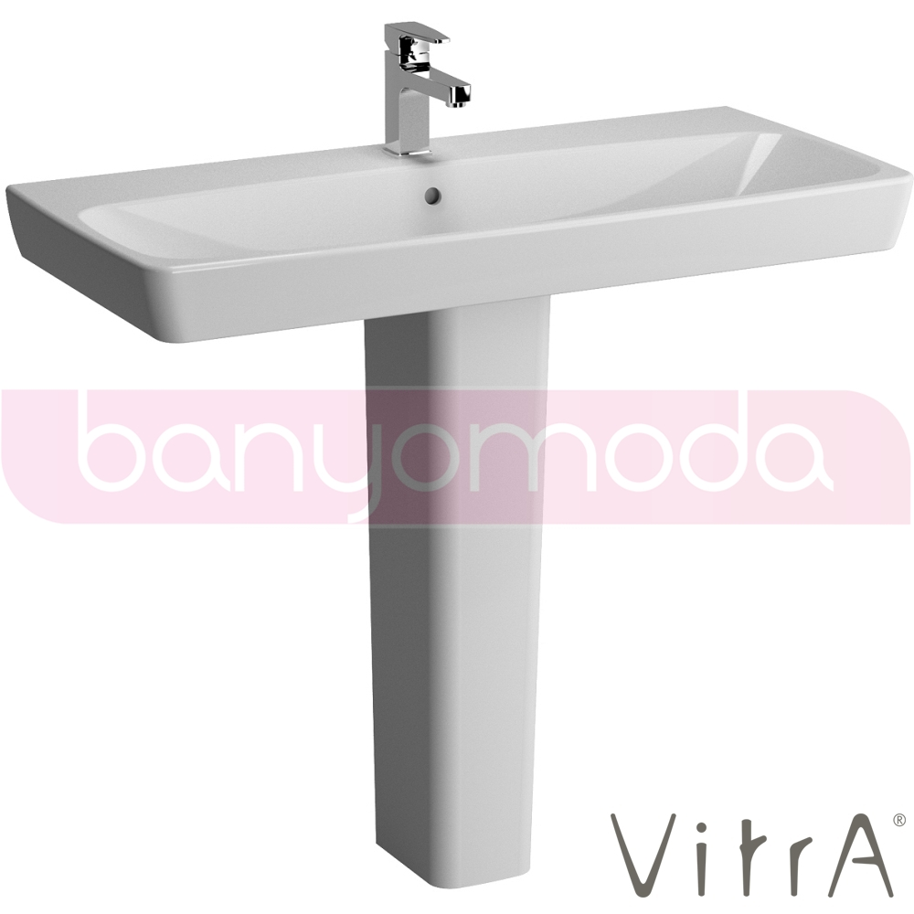 vitra metropole lavabo 100 cm 5664b003 0001 online sat banyomarka. Black Bedroom Furniture Sets. Home Design Ideas